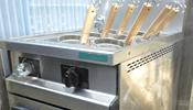 中古厨房機器 ゆで麺器